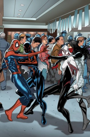 Welcome Home variant cover 13 - Amazing Spider-Man 13