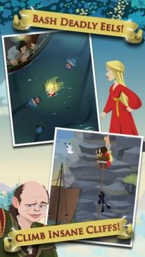 captura iTunes juego móvil la princesa prometida