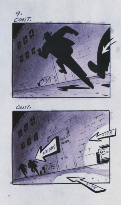Batman - Storyboard 3