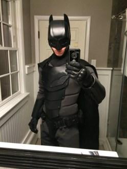Traje de Batman hecho por fan 09