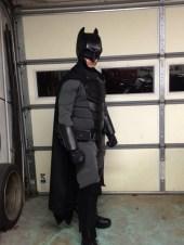 Traje de Batman hecho por fan 11