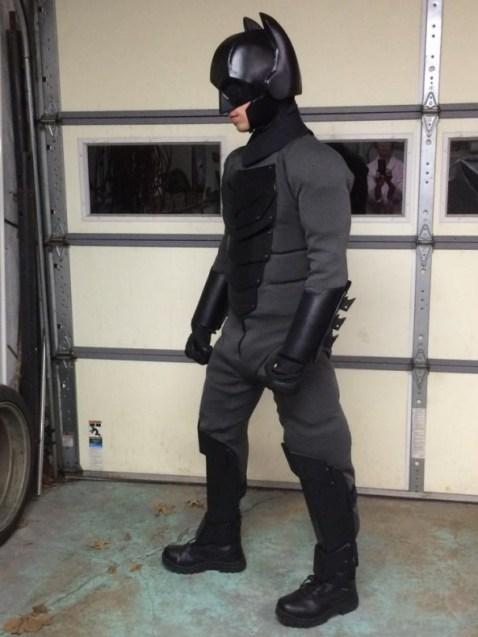 Traje de Batman hecho por fan 13
