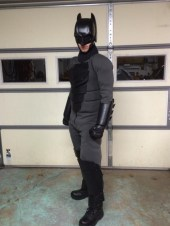 Traje de Batman hecho por fan 14
