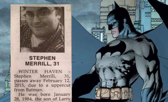 Esquela Batman