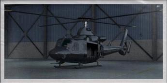 Entre los vehículos también habrá helicópteros