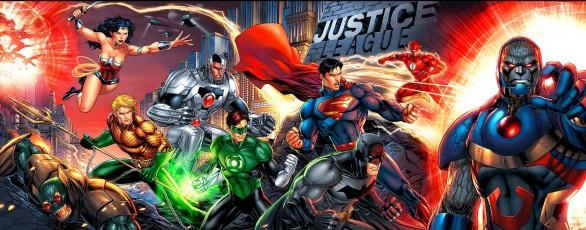 liga de la justicia origen