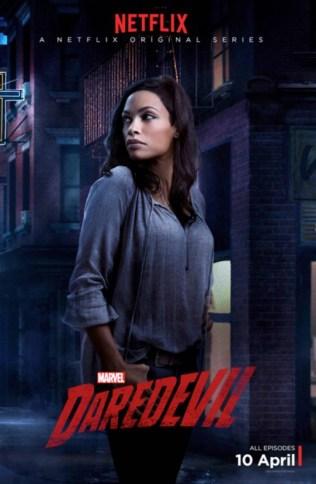 Daredevil - Claire Temple poster