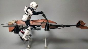 Dron - Star Wars Speeder Bike 22