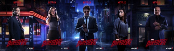 Marvel - Daredevil - Netflix - Character posters collage
