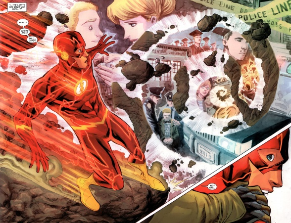 the flash speed force