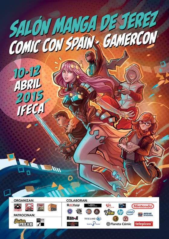 Cartel Salón del Manga de Jerez