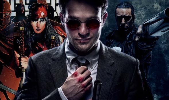 Daredevil - Elektra - Punisher