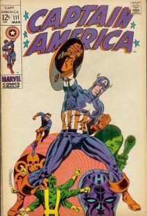 Captain America #111