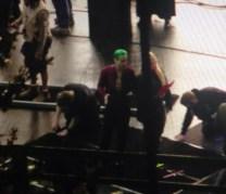 Harley y Joker en el rodaje 03