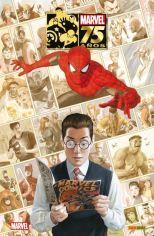 En 1939, la publicación de Marvel Comics #1 USA por parte de Timely Comics lanzó el mayor cosmos de ficción jamás creado... ¡El Universo Marvel! 75 años después, la historia de La Casa de las Ideas está jalonada por inmensos hitos, que marcaron a generaciones de lectores: Los Cuatro Fantásticos, Spiderman, Los Vengadores, La Patrulla-X, Hulk, Daredevil... Este tomo, el primero de los dos que estarán dedicados a evocar los setenta y cinco años de historia de la editorial, contiene las mejores historias jamás creadas por los más grandes autores del cómic estadounidense, aquellos que dieron forma a Marvel durante todos estos años. Autores: Stan Lee, Jack Kirby, Steve Ditko, Roy Thomas, John Buscema, Jim Shooter, John Byrne, Gerry Conway, Gil Kane, Jim Steranko, John Buscema, Neal Adams, Chris Claremont, Len Wein, Herb Trimpe, David Michelinie y Frank Miller