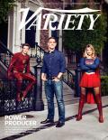 Supergirl y Flash en la portada de Variety