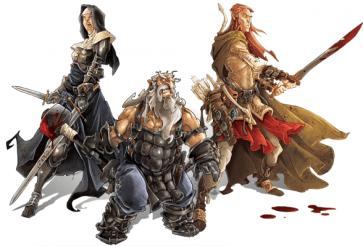 Zombicide Black Plague heroes