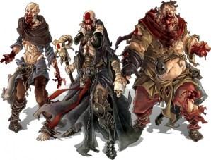 Zombicide Black Plague zombis