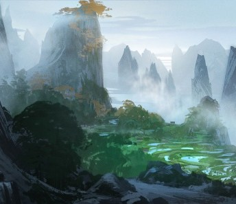Kung Fu Panda 3 Concept 1