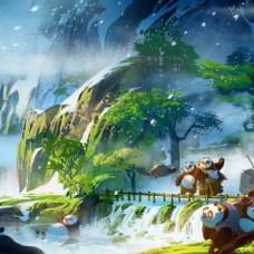 Kung Fu Panda 3 Concept 5