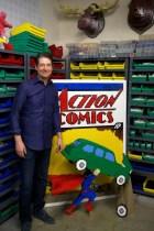 Nathan Sawaya Superman Lego SDCC