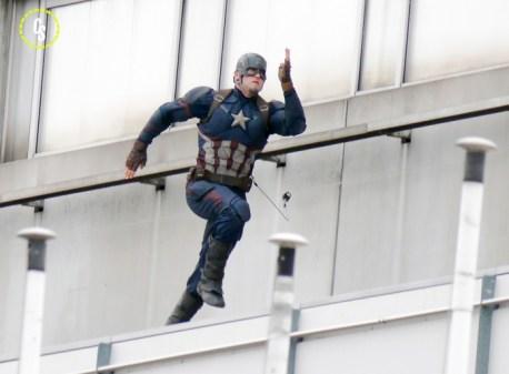 Capitán América Civil War - rodaje Berlín 01