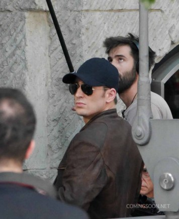 Capitán América Civil War - rodaje Berlín 25