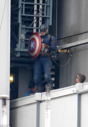 Capitán América Civil War - rodaje Berlín 39