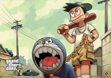 Doraemon GTA V