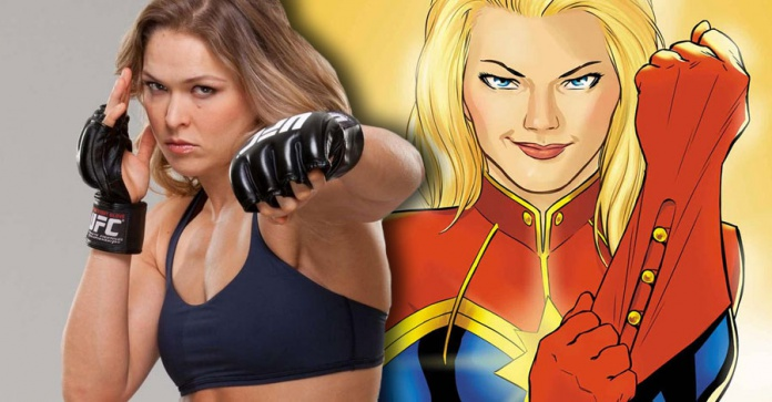 Ronda Rousey Capitana Marvel