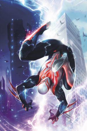 Spider-Man 2099 Portada Alternativa de Francesco Mattina