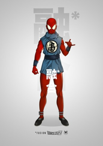 Spiderman Dragon Ball Z