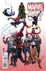 All-New All-Different Marvel Point One Portada Alternativa 1