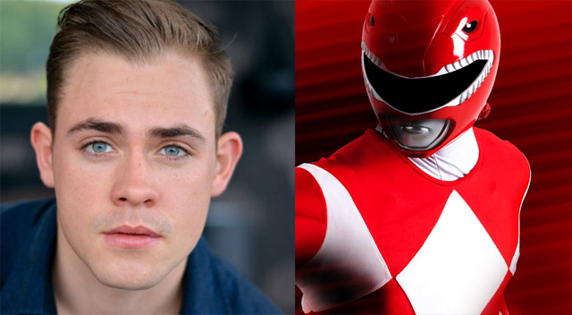 Dacre Montgomery Power Ranger Rojo Destacada