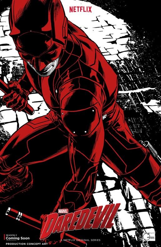 Daredevil T2 NYCC poster