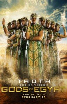 Gods of Egypt Chadwick Boseman como Thoth