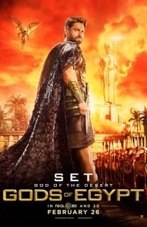 Gods of Egypt Gerard Butler como Set