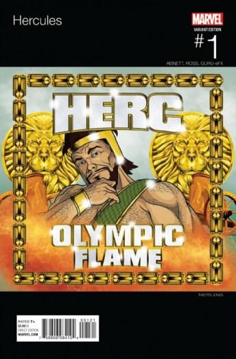 Portada alternativa hip hop de Theotis Jones