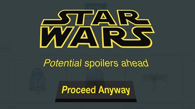 Spoilers SW