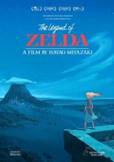 Poster Legend of Zelda Studio Ghibli 2