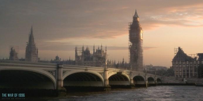 Independence Day Resurgence - Reconstrucción de Londres