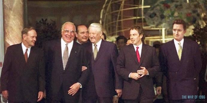 Independence Day Resurgence - Reunión de líderes mundiales