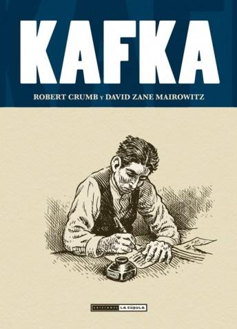 Robert Crumb y Mairowitz- Kafka - Cubierta