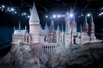 Castillo de Hogwarts. Imagen por cortesía de Warner Bros Studio Tour London