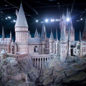 Castillo de Hogwarts. Imagen por cortesía de Warner Bros Studio Tour London