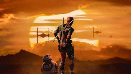 Deadpool Star Wars