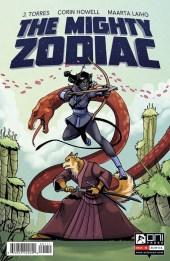 The Mighty Zodiac Portada Corin Howell