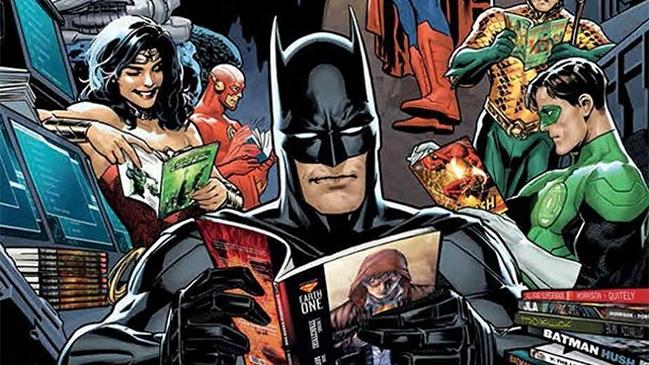 superhéroes lectura