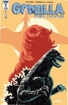 Godzilla Oblivion Portada alternativa de Brian Churilla