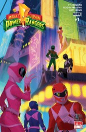 Power Rangers Variant Cover Hypno Comics